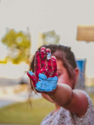 Rainbow Hand Photo by Itati Tapia from Pexels